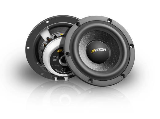 eton prw80 8cm 4 mid range car speaker speakers loud. Black Bedroom Furniture Sets. Home Design Ideas